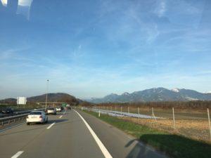 Heimfahrt ins schöne Rheintal